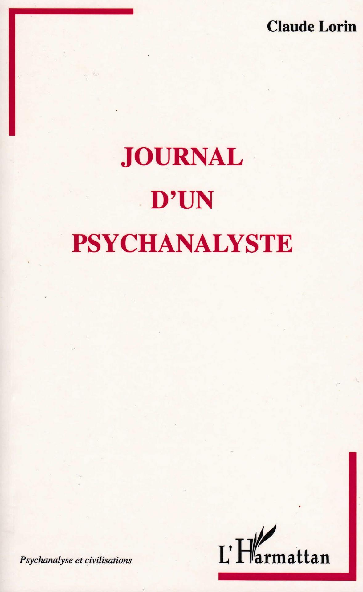 Journal d un psychanalyste