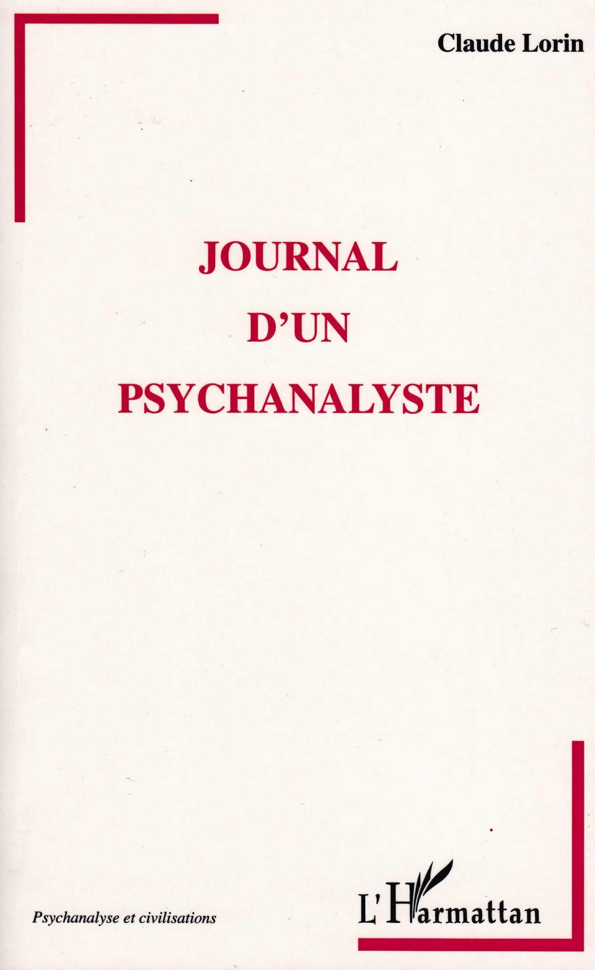 Journal d un psychanalyste